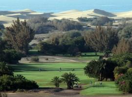Большой участок около поля для гольфа в Маспаломасе